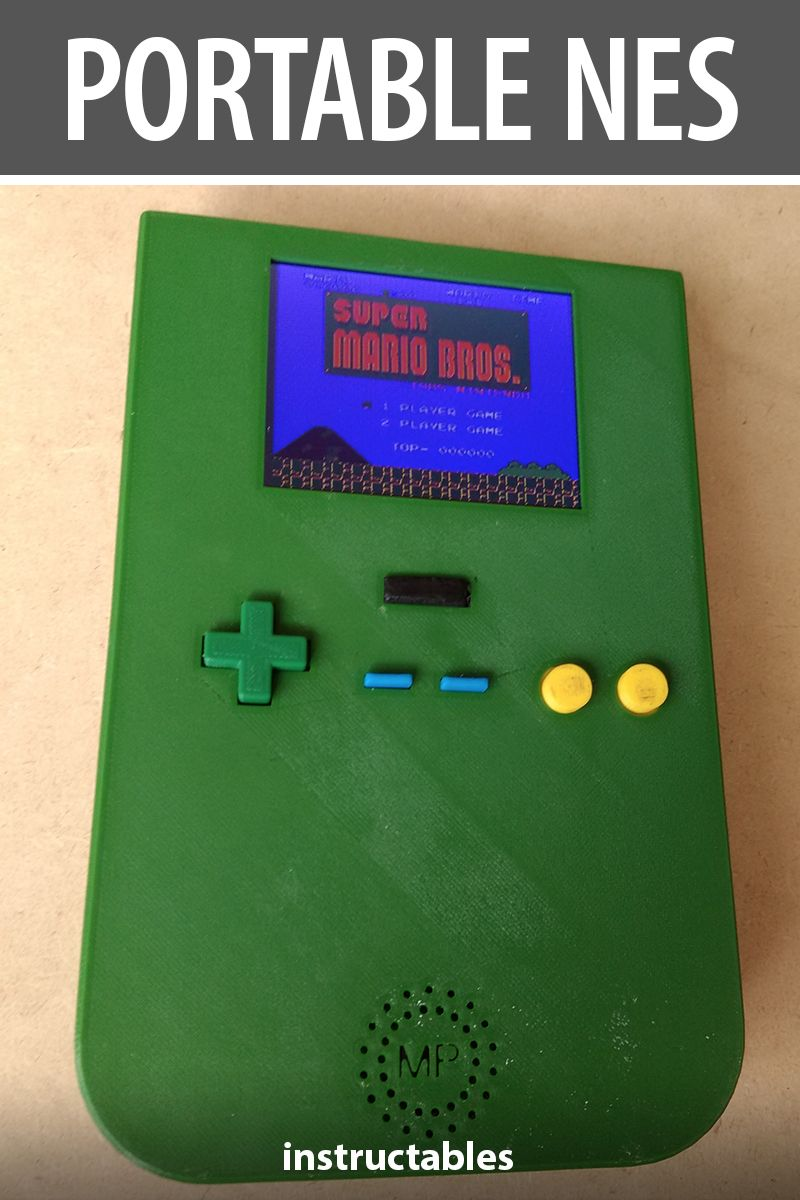 The Thinnest & Narrowest Portable Nes? | 3D Printing | Nes