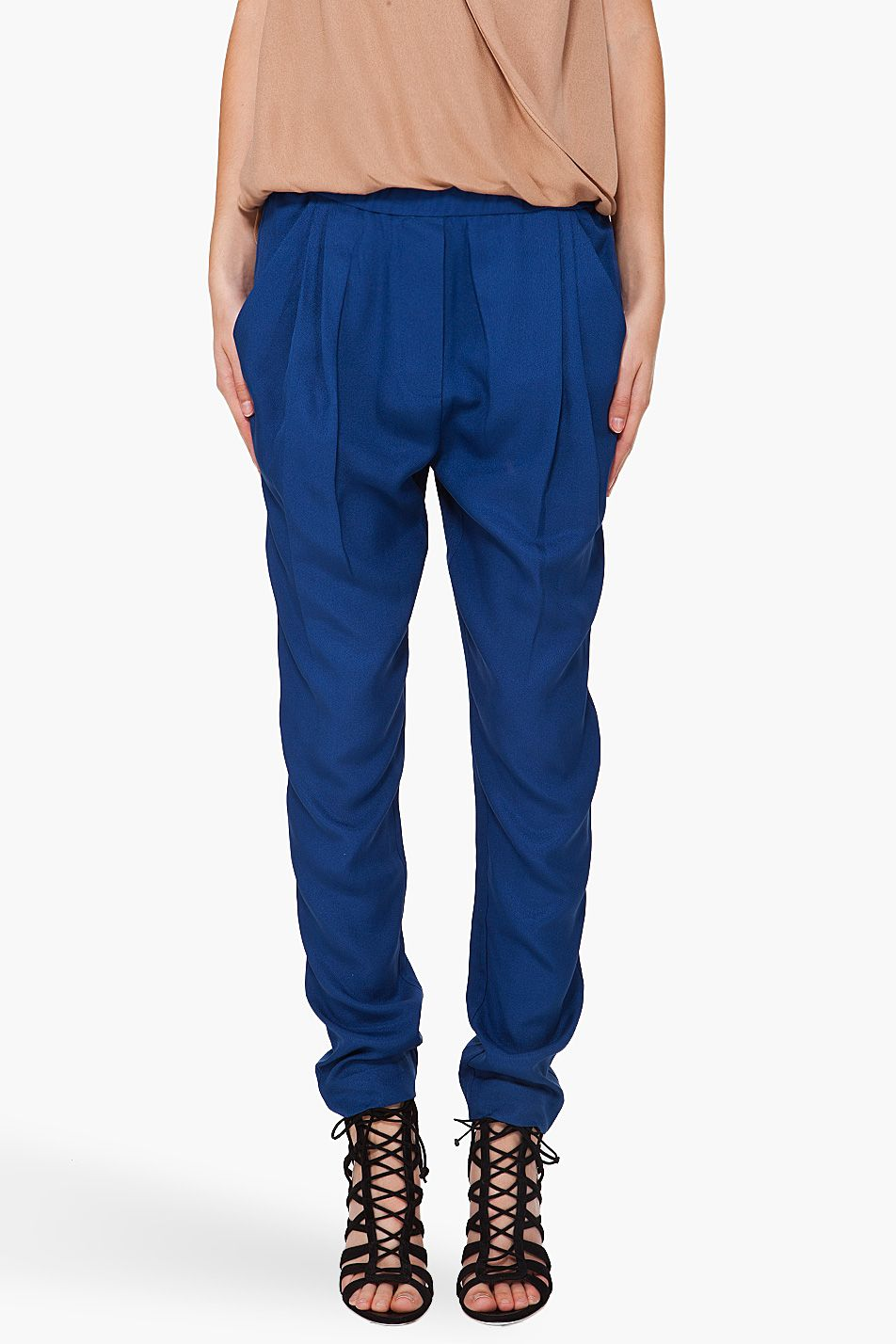 Draped Pocket Trousers by 3.1 Phillip Lim
