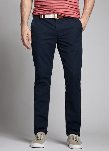 Navy Pants for Men | Bonobos. I'd wear these colors reversed. With ...
