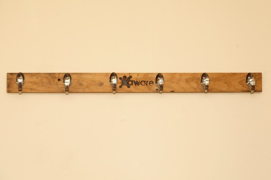 Coat Rack. Aware Industries skilled staff are now making furniture from recycled furniture from recycled timber pallets. Visit our website today for further details and to see other items available www.awareindustries.com.au