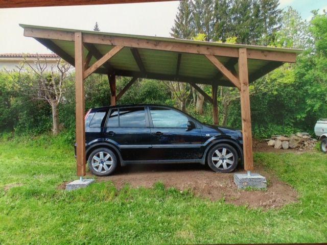 Pergola Douglas Sur Mesure Abri Terrasse Structure Bois Abri