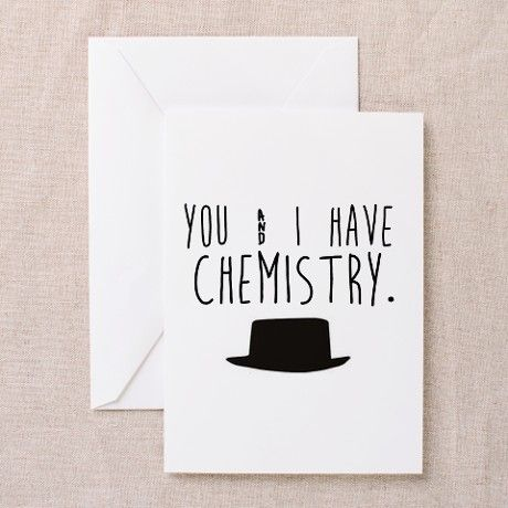 Chemistry Valentine Greeting Cards Funny Unique Greeting Cards