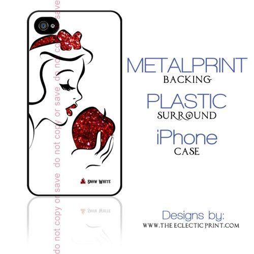 Snow White Minimalist iphone case