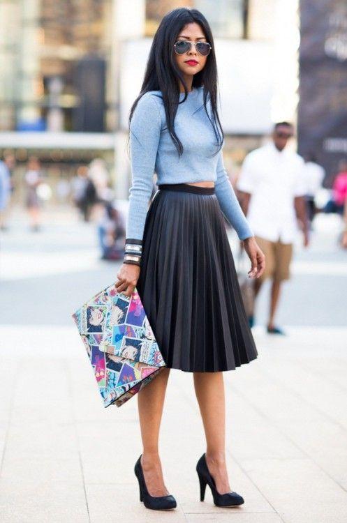 В моде ли плиссированные юбки