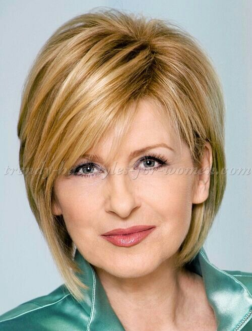 Like the cut and color Hairstyles Pinterest Trensas