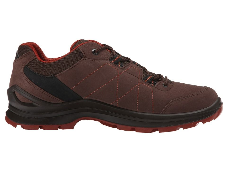 Lowa Tiago Lo Men's Shoes Espresson/Rust