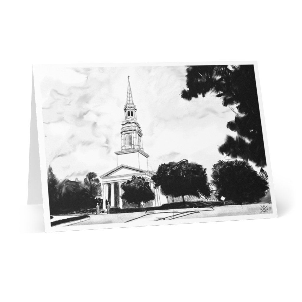 The Church at Wieuca Greeting Cards (8 pcs) - 4.1\ x 5.8\