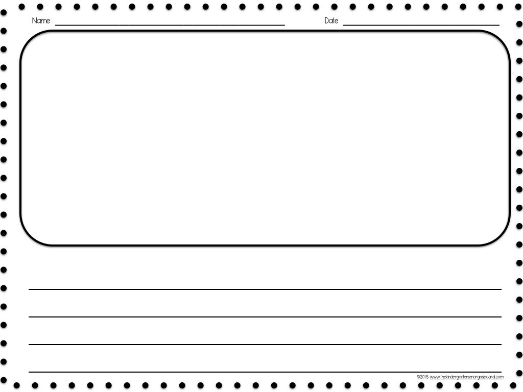 Worksheet Printable Handwriting Paper For Kindergarten 1000 images about paper blank on pinterest writing centers to tell and paper
