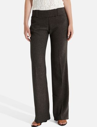 Lexie Pieced-Waist Classic Flare Pants from THELIMITED.com