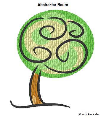 Freebie - 20170321 - Abstrakter Baum - stickeck.de
