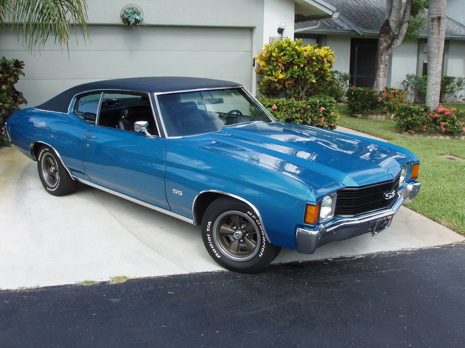 72 chevelle ss if you liked that try this