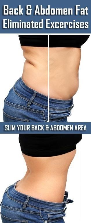 11 Simple & Effective Exercises To Lose Back and Abdomen Fat Fast