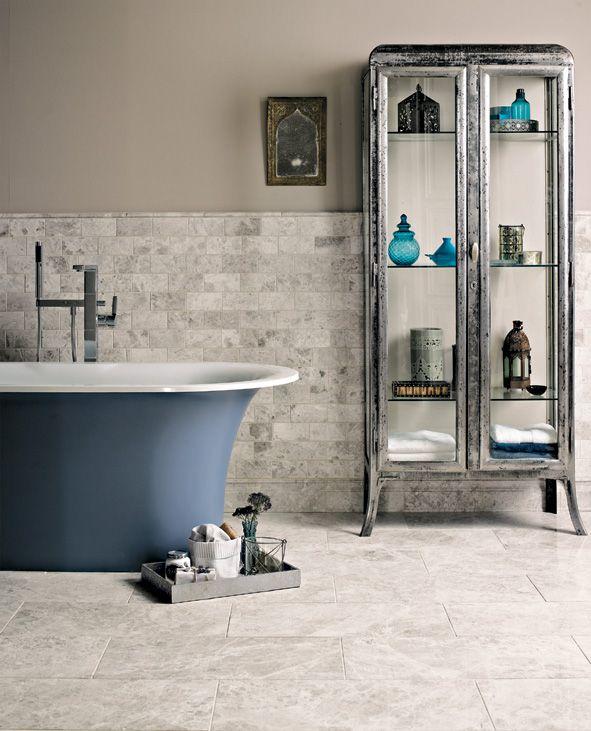 Fired Earth Bathrooms - Lulu Klein Interiors, interior designer in south  east england Interior designer SW france, fired earth in france
