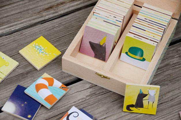 Gedächtnisspiele - Pärchen finden - ein Designerstück von ImSuedenDesNordens bei DaWanda