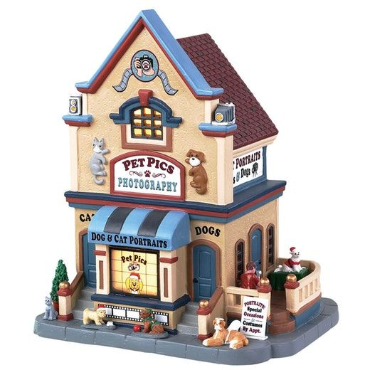 Lemax Christmas Village Michaels.Lemax Pet Pics Photography Ssku 85391 Released In 2018 As