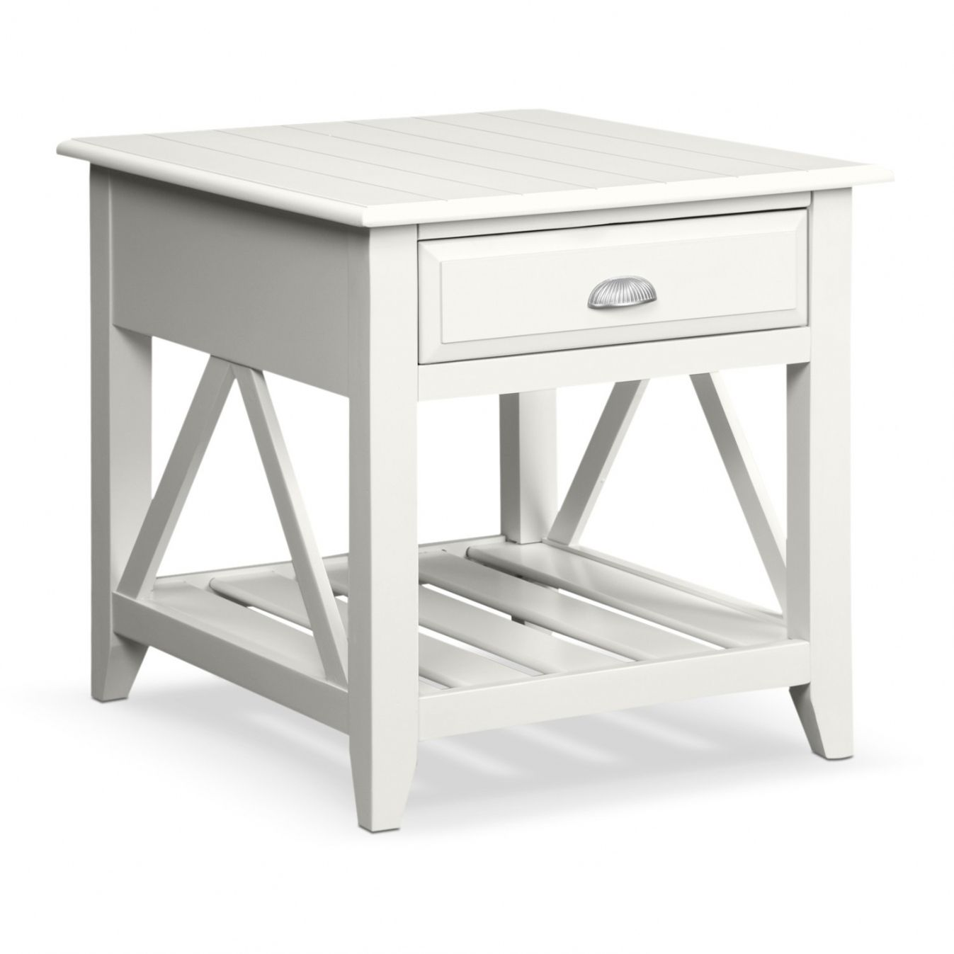 White Wood End Tables - Modern Italian Furniture Check more at http ...