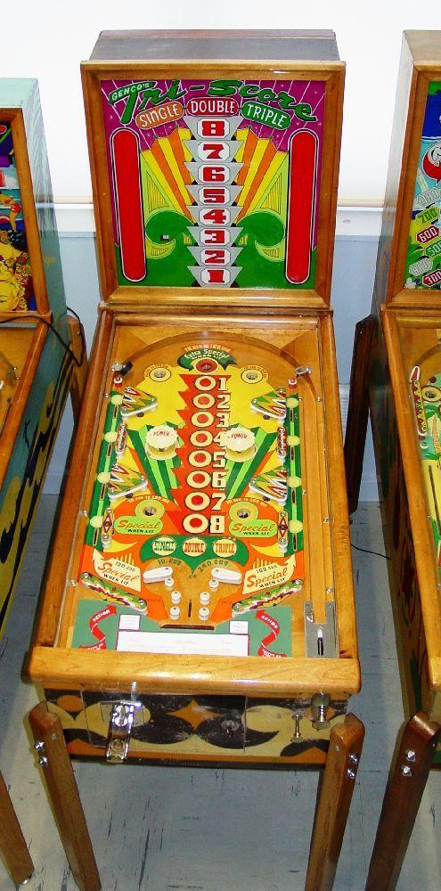 """1951 Tri-Score """"Genco """" Pinball Machine"""