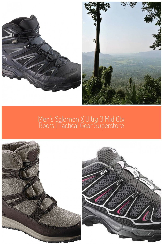 Salomon X Ultra 3 Mid GTX #trekking accessories Men's