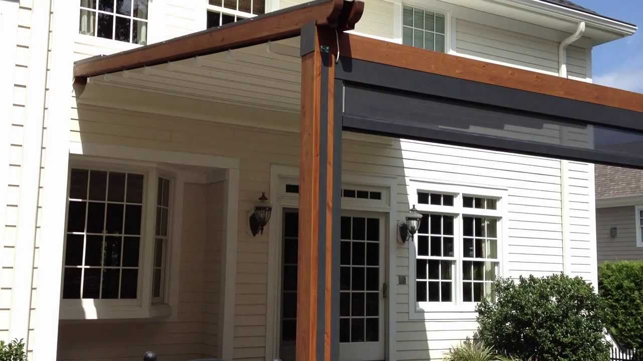 Durasol Awnings The Gennius A Waterproof Retractable Awning Pergola Canopy Diy Retractable Pergola Canopy Pergola Canopy