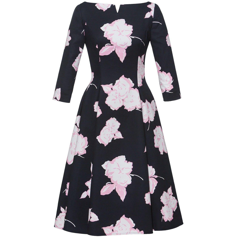 """Kleid mit ausgestelltem Rock """"Liz Dress peonie"""" - Lena Hoschek"""