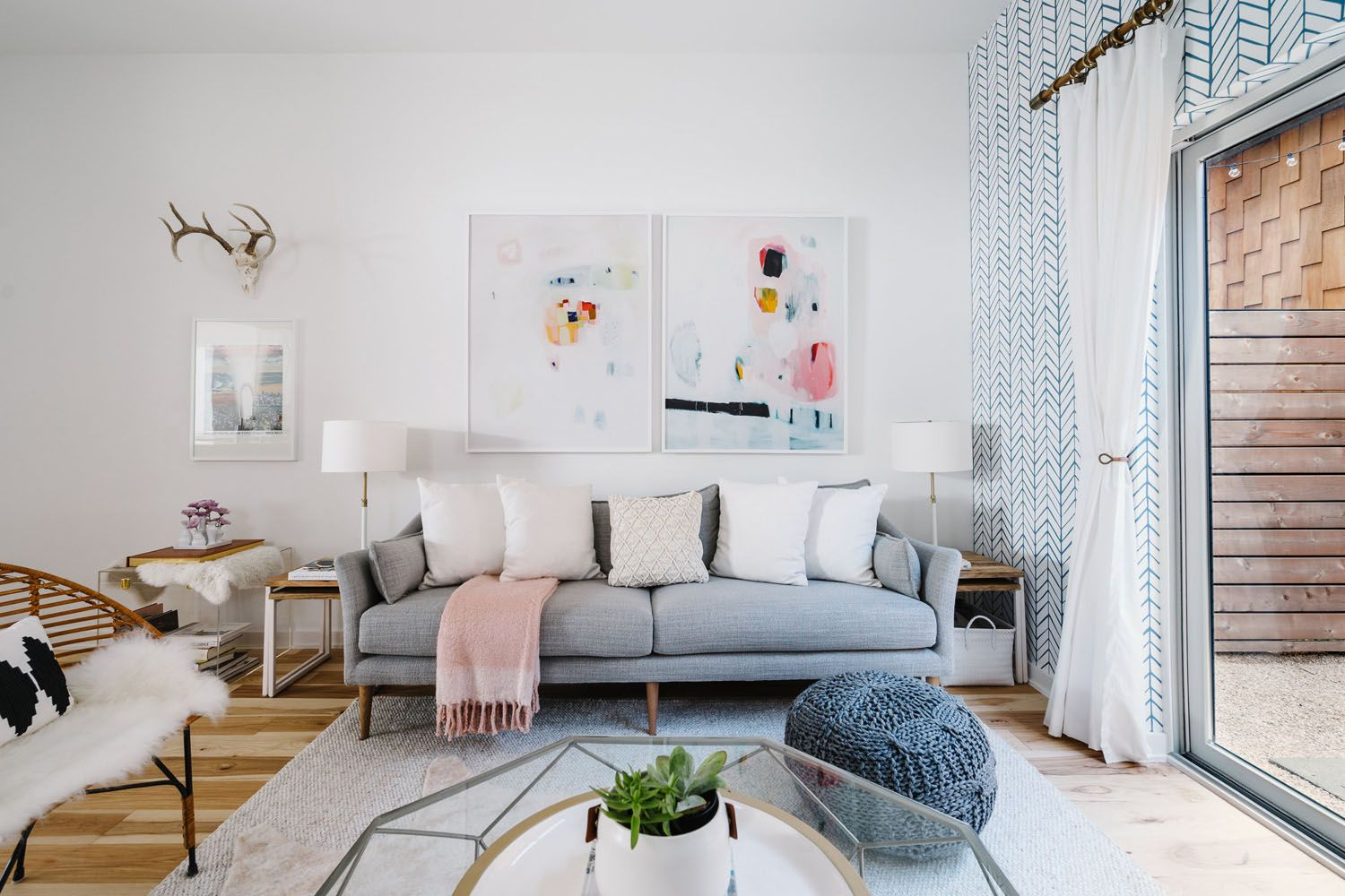 An Up And Coming Designer S Home In Austin Tx Rue Scandinavian Design Living Room Living Room Designs Living Room Scandinavian