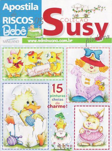 Pintura Tecido - Coleção Susy - Apostila de Riscos Bebê - 3 - carlosdanielluise - Álbuns da web do Picasa