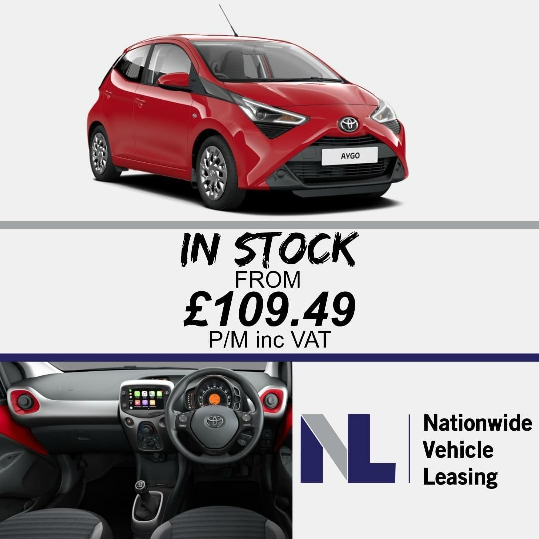 In Stock Toyota Aygo Hatch 1 0 Vvti 68 X Play 5dr Manual From
