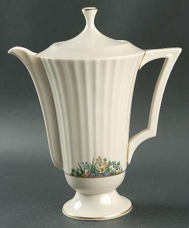 Lenox Rutledge Coffee Pot & Lid