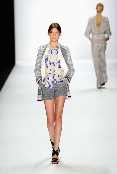 Rena Lange: Runway - Mercedes-Benz Fashion Week Spring/Summer 2013