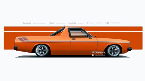 Holden Kingswood V8 Ute By Axesent Holden Kingswood Australian Muscle Cars Australian Cars