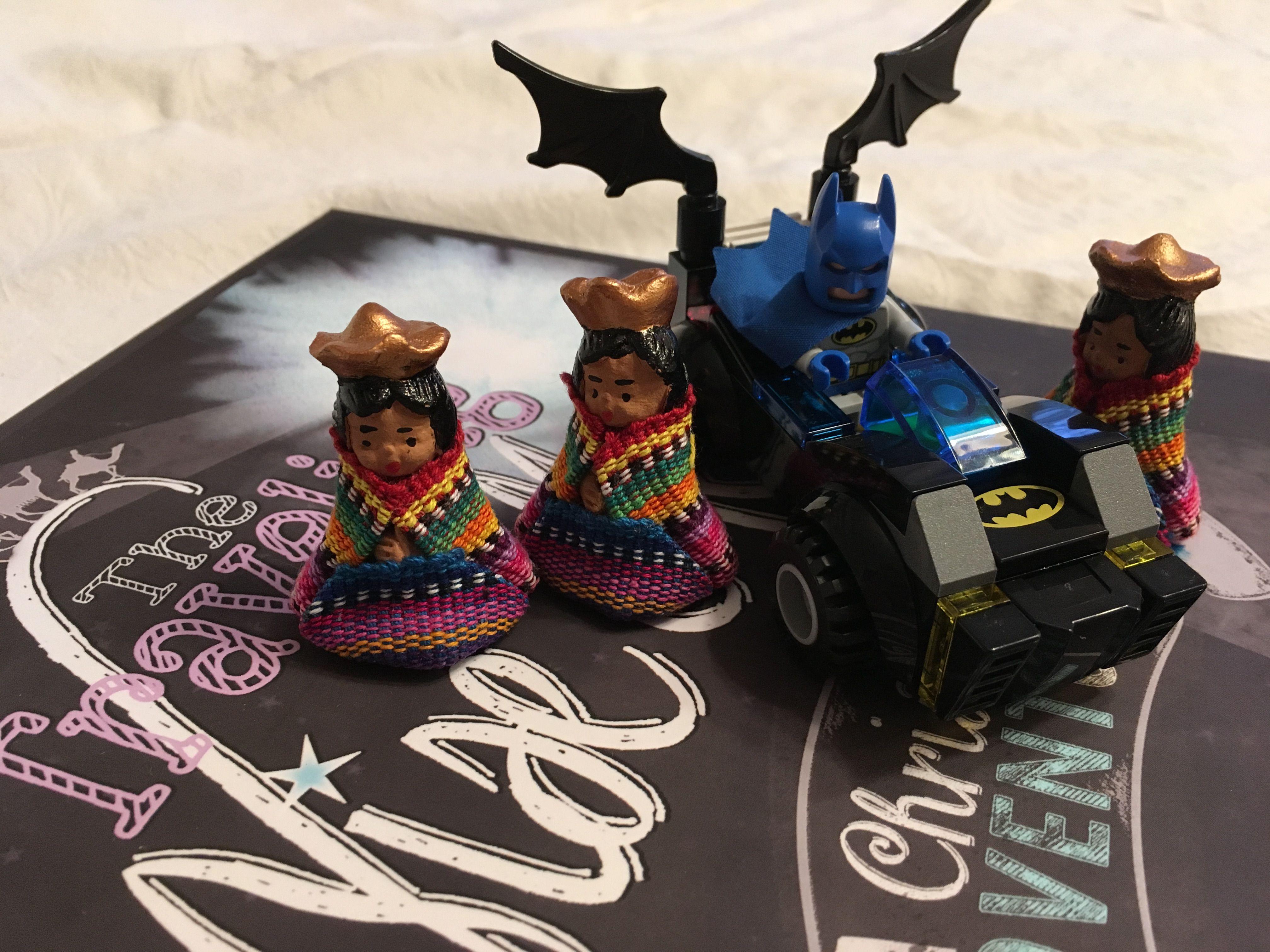 The Traveling Wise Men ran into bat man! www.travelingwisemen.com
