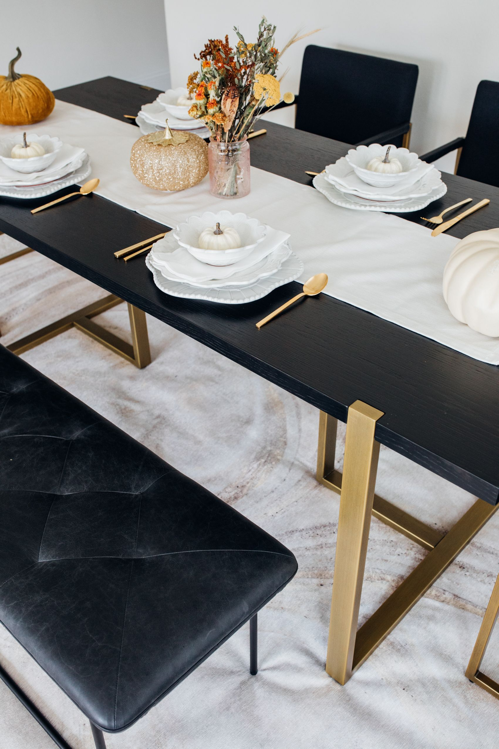 A Stunning & Sturdy Dining Table You'll Love for Years - Color & Chic