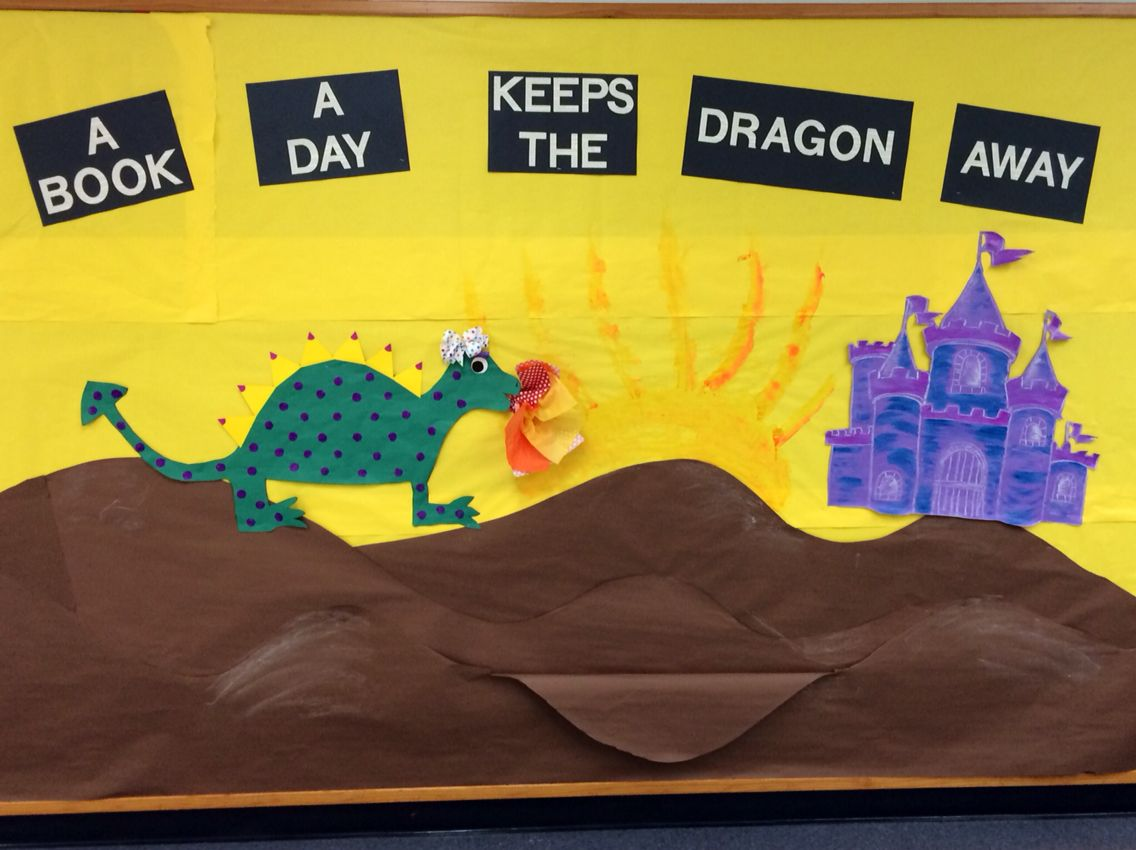 Sir Readalot S Castle Book Fair Bulletin Board