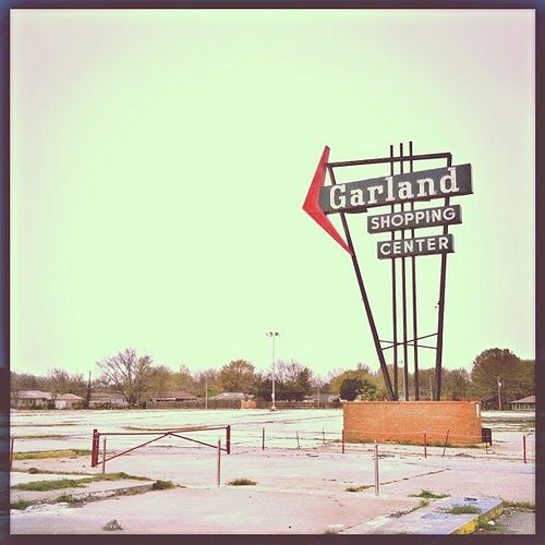 Where Is Garland Texas >> Where Garland Shopping Center Used To Stand Now Only The
