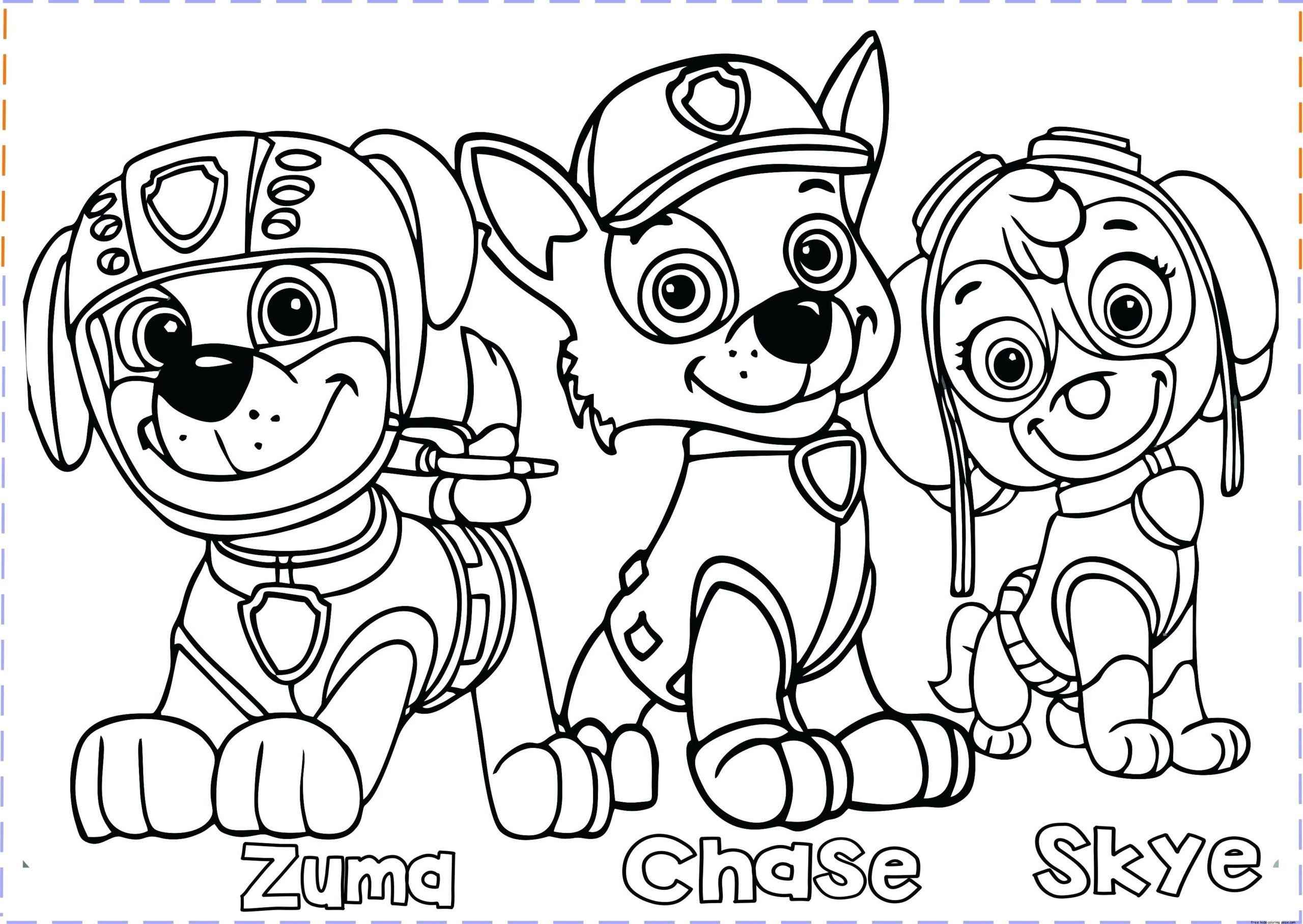 Kids Free Printable Coloring Pages Kids Printable Coloring Sheets Coloring Pages For Kids In 2020 Paw Patrol Coloring Paw Patrol Coloring Pages Cartoon Coloring Pages