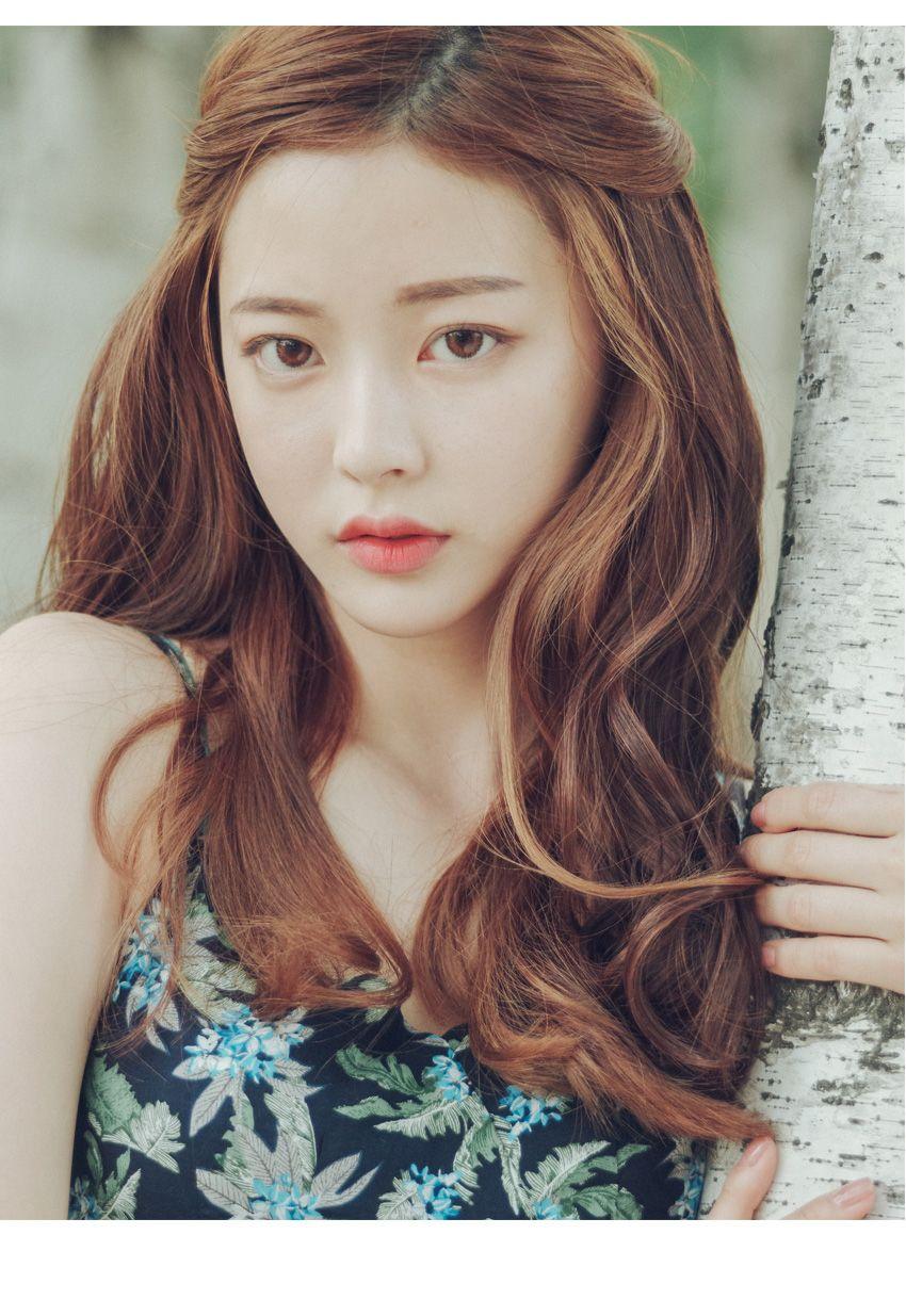 Bora Lim | pinkage ulzzang | 한국식 헤어, 긴 머리 헤어스타일, 헤어스타일