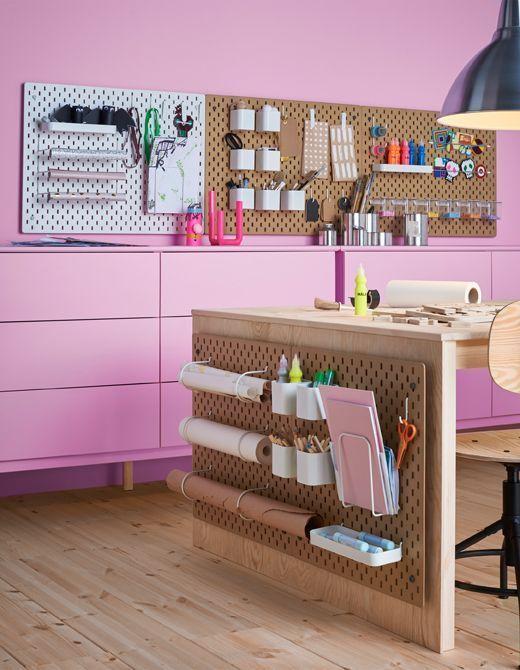IKEA\'s new SKÅDIS pegboard is every neat freak\'s dream | Room ...