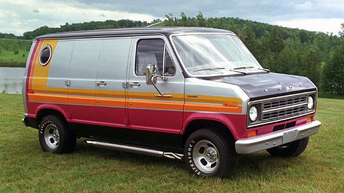 The Van Craze Of The 1970s Resulted In America S First Factory