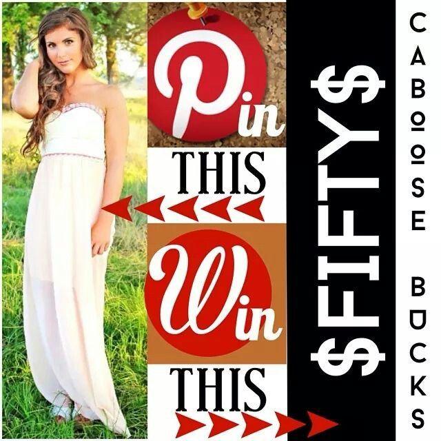 #shopcaboose #pinterest #giveaway #pleasepickme #scFan!!!