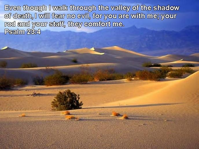 Valley Of The Shadow Of Death Quote