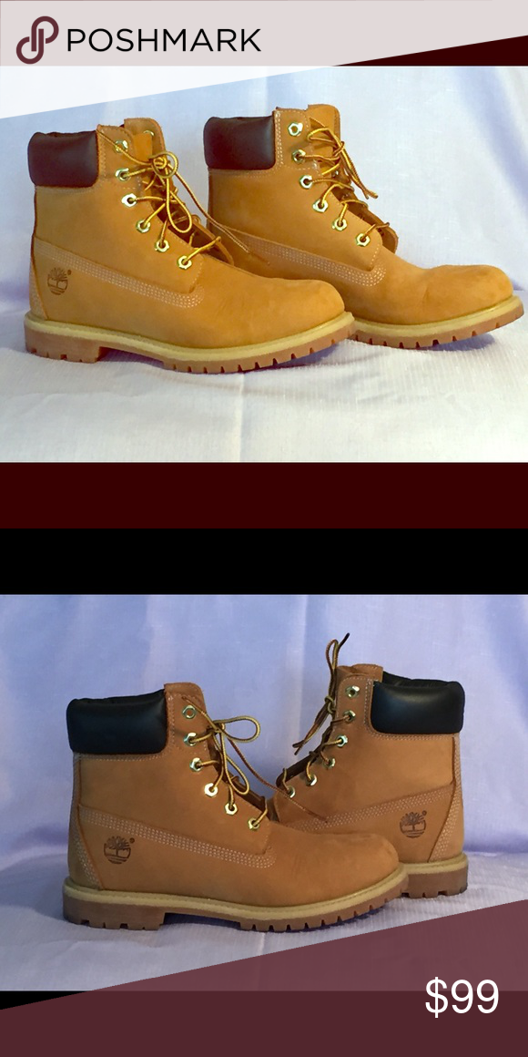 3637bc0ca33 Like new Timberland boots..size 8.5... These are technically used ...