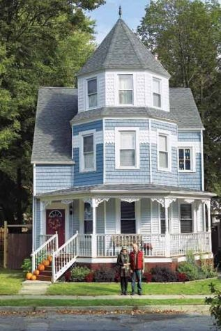 Readers Picks Your Favorite Featured Houses Victorian Homes House Blue House