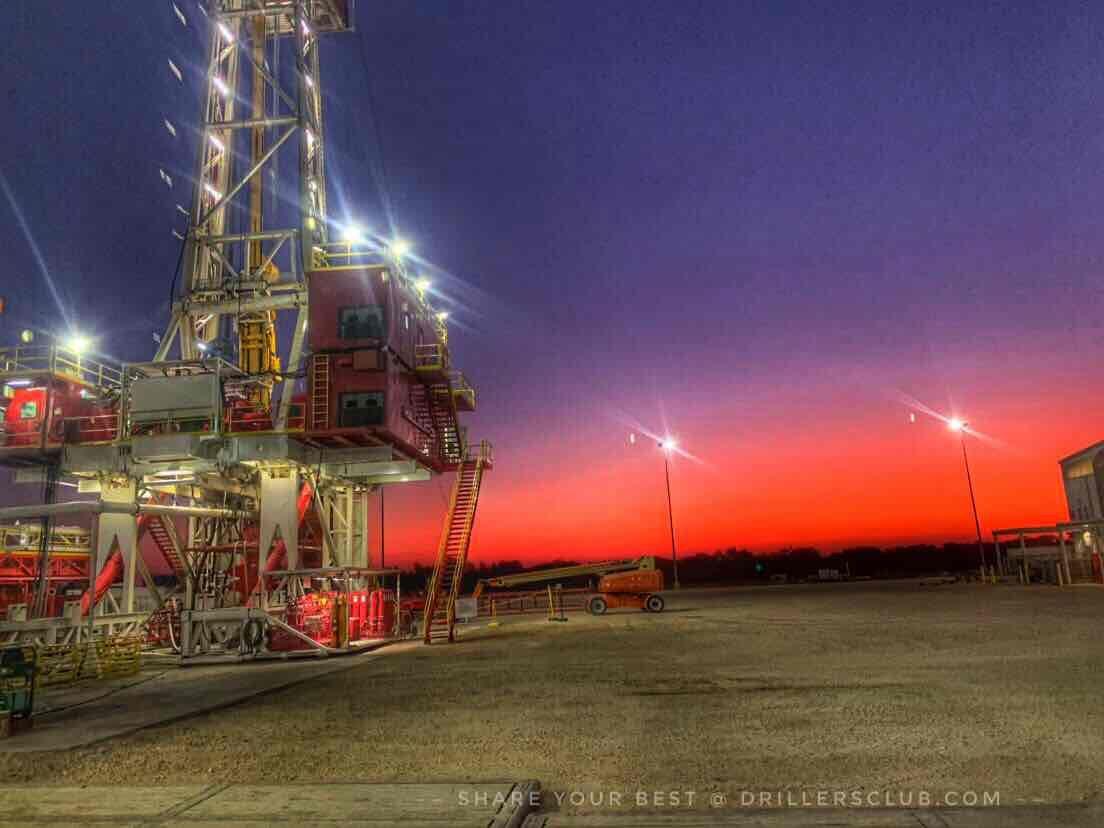 Halliburton Rig Cameron Texas Oilfield Rigs Cameron Texas