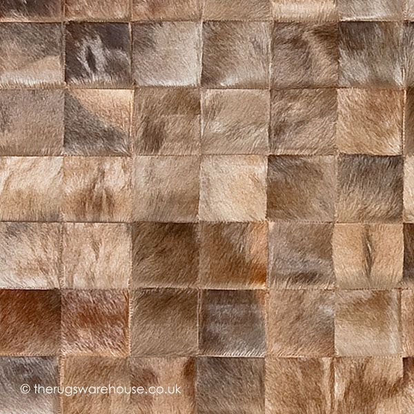 Chantilly Rosolare Rug Cowhide