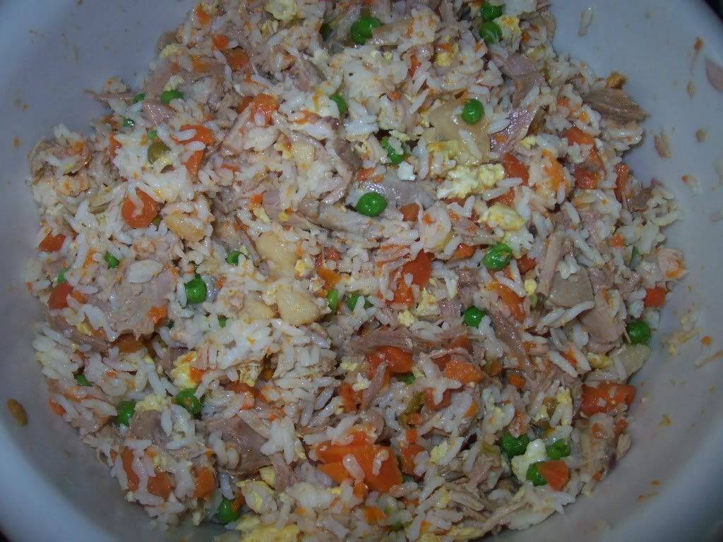 Make Your Own Homemade Dog Food With Rice Meat Vegetables