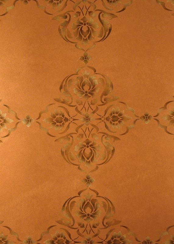 Alhambra Modern Masters Stencil | Royal Design Studio