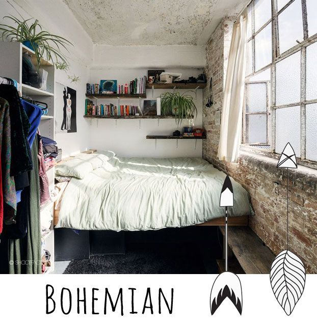 How To Create A Bohemian Style Bedroom Find Out
