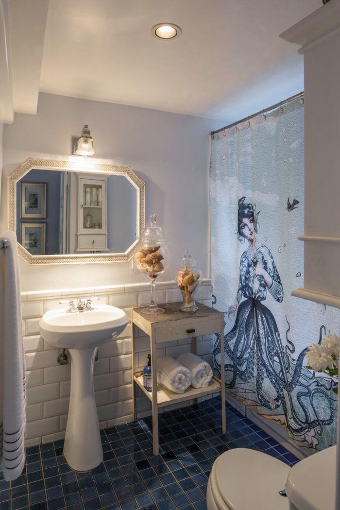 1001 ideas de cuartos de ba o en estilo ecl ctico for Espejos bano originales