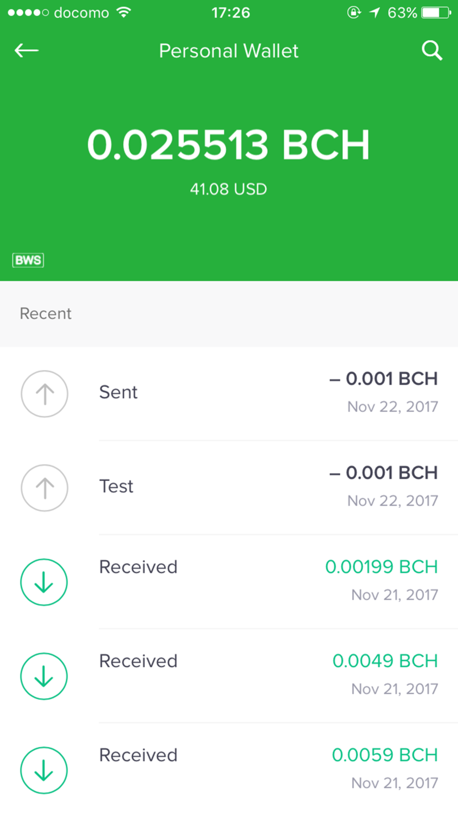 Bitcoin Wallet By appsappappstoreios