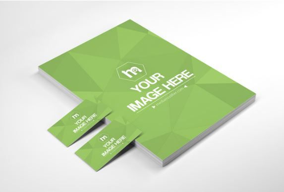 Stack of papers and business cards mockup generator letterhead stack of papers and business cards mockup generator colourmoves